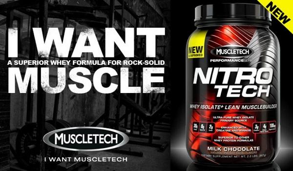 Nitro-Tech Performance Series 1.8 kg Muscletech