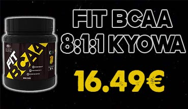Galaxy Nutrition FIT Bcaa 8:1:1 Kyowa 200cps