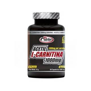 Acetil L-Carnitina 1000 60cps ProNutrition