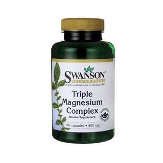 Triple Magnesium Complex 100 cps Swanson
