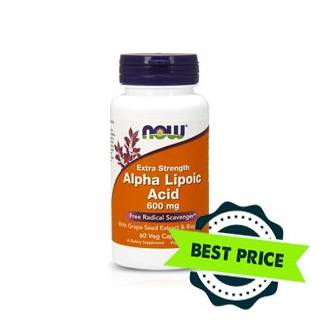 Alpha Lipoic Acid 60mg 60cps now foods