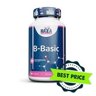 B-Basic Vitamin 100tabs haya labs