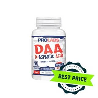 DAA D-Acido Aspartico 1000 90tabs prolabs