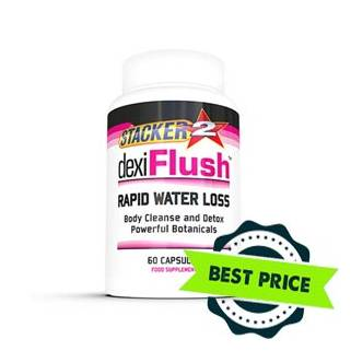Dexi Flush Water Loss 60cps nve pharmaceuticals