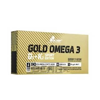 GOLD Omega-3 D3+K2 60cps Olimp