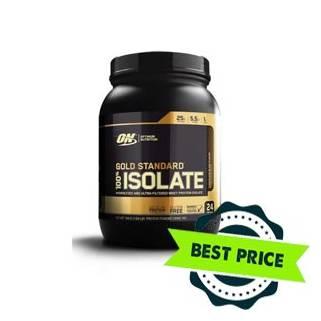 Gold Standard 100% Isolate 720g optimum nutrition