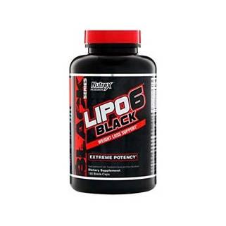 Lipo-6 Black 120 cps Nutrex Research