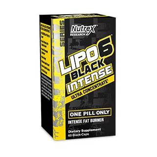 Lipo-6 Black INTENSE 60cps Nutrex Research