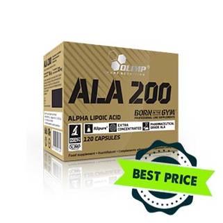 Olimp ALA 200 120cps acido alfa lipoico