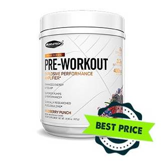 Peak Pre-Workout 420g muscletech