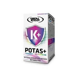 Potas + Magnez + B6 90Tab Real pharm