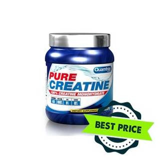 pure creatine 400g quamtrax nutrition