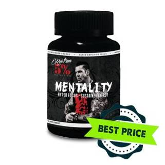 Rich Piana Mentality 90cps 5% nutrition