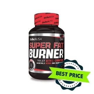 Super Fat Burner 120 cps Bio Tech USA