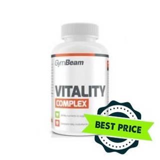 Multivitamin Vitality Complex 120 cps GymBeam